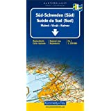 Carte routi�re : Su�de Sud (Sud)par Cartes K�mmerly + Frey