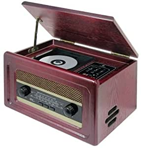 Elta 1231 nostalgie radio mit cd player amazonde audio for Unterschrank radio mit cd