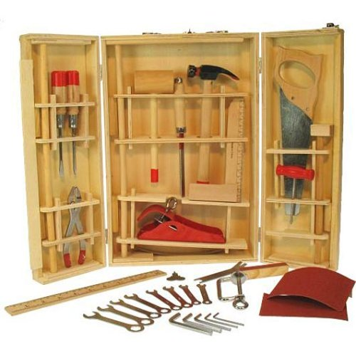 Bigjigs Wooden Toys-Junior Tool Box