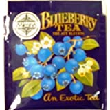 Mlesna Brand Blueberry Black Tea Gourmet Individually Wrapped Tea Bags (Pack of 25 Bags) ~ Mlesna