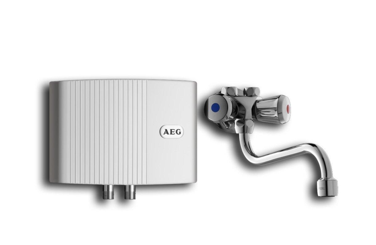 AEG 189556 MTH 350 OT hydraulischer KleinDurchlauferhitzer 3,5 kW mit Armatur drucklos  BaumarktKundenbewertung und weitere Informationen