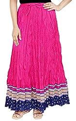 Rangreja Women's Skirt (WESK101PB38_Pink_38)