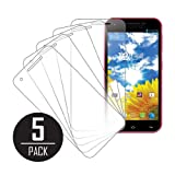 MPERO Collection 5 Pack of Clear Screen Protectors for BLU Studio 5.5 by Empire