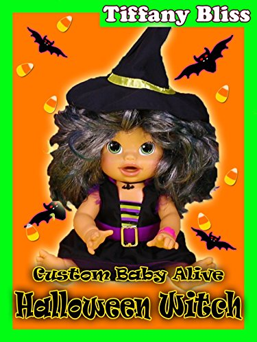 Baby Alive Halloween Witch Costume Doll Eats Play Doh Poops Surprise Blind Bags