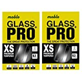 Moblo(Pack Of 2) Tempered Glass For Xiaomi Redmi Note 2 Prime