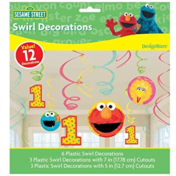 Includes (12) swirl decorations.