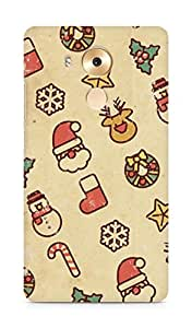 Amez designer printed 3d premium high quality back case cover for Huawei Mate 8 (Vintage Christmas)