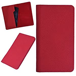 DCR Pu Leather case cover for Maxx MSD7 AX501 (RED)