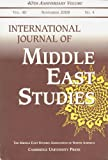 img - for International Journal of Middle East Studies: Vol. 40, November 2008, No. 4 book / textbook / text book