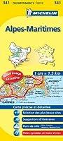 Carte DPARTEMENTS Alpes-Maritimes