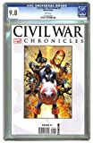 img - for Civil War Chronicles #1 Michael Turner Cover CGC 9.8 book / textbook / text book