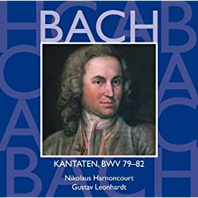 Bach, JS : Sacred Cantatas BWV Nos 79 - 82