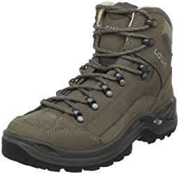 Lowa Women\'s Renegade LL Mid Hiking Boot,Stone,9 M US