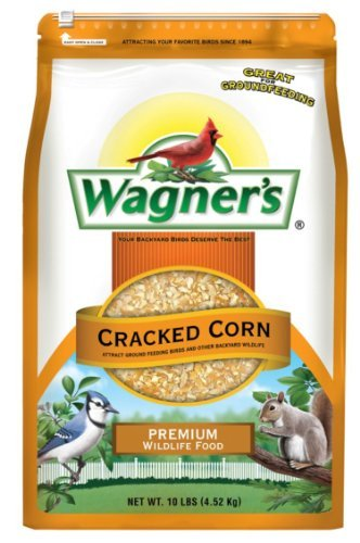 Wagner's 18542 Cracked Corn, 10-Pound Bag (Bag Of Corn Seed compare prices)