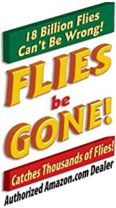 Flies be Gone Non Toxic Fly Trap (red / yellow) (10
