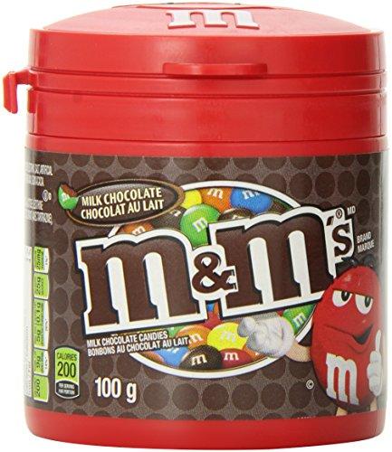M&M's Milk Chocolate Bottle 100g, 6-Count