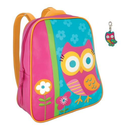 Stephen Joseph Owl Backpack and Owl Zipper Pull - Cute Girls Backpacks - 1