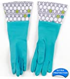 Brighten Up Latex Cleaning Gloves, Colors Vary