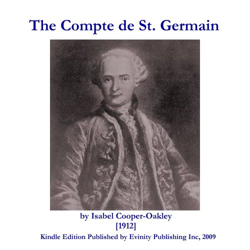 Isabel Cooper-Oakley - The Comte de St. Germain (English Edition)