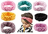 Qandsweet Baby Girl's Headbands Rope Model Color: 8 Pack 14 Hair band, Model: HD4, Newborn & Baby Supply