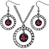 MLB Rhinestone Jewelry Set