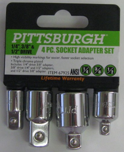 4 Piece Socket Adapter Set