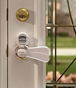 Kidco Door Level Lock - Clear