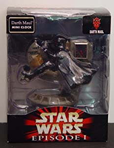 Star Wars Episode 1 - Darth Maul Mini Clock
