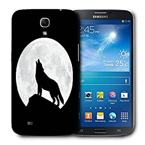 Snoogg Wolf At Night Designer Protective Back Case Cover For Samsung Galaxy Mega 6.3