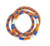Roll-on Bracelets Handmade inside Nepal - Team Spirit Collection (Set of 3- Fan Favorite - Blue plus...