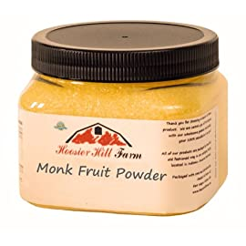 Hoosier Hill Farm Monk Fruit Powder, 8 oz.