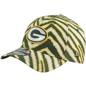 NFL Era Green Bay Packers Zubas 39THIRTY Flex Hat - Green/Yellow
