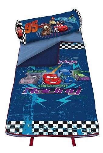 More image Disney Cars Slumber Nap Roll Sleeping Mat and Pillow Set