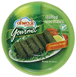 Al Wadi Gourmet Stuffed Vine Leaves , 10-Ounce Cans (Pack of 6)