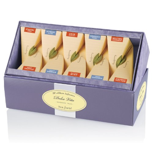 Tea Forte Dolce Vita Tea Collection - 20 pieces