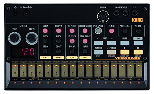 Best Deals! Korg VOLCABEATS - Analog Rhythm Machine