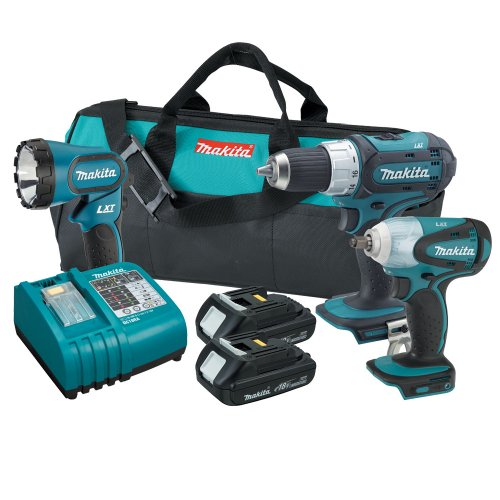 Makita LXT311H 18-Volt LXT Cordless Lithium-Ion 3-Piece Combo Kit