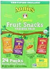 Annies Homegrown Organic Bunny Fruit Snacks Variety Pack