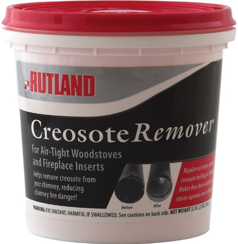 Rutland Dry Creosote Remover Chimney Treatment, 2-Pound (Fireplace Chimney compare prices)