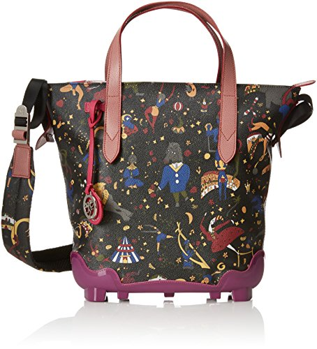 Piero Guidi Magic Circus Be Magic Borsa a Tracolla, 31 cm, Ametista