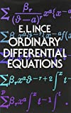 img - for By Edward L. Ince Ordinary Differential Equations (Dover Books on Mathematics) (Repirnt) [Paperback] book / textbook / text book