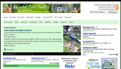 World Zoo Today