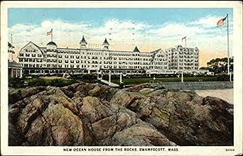 New Ocean House From The Rocks Swampscott Massachusetts Original Vintage Postcard At Amazon 39 S