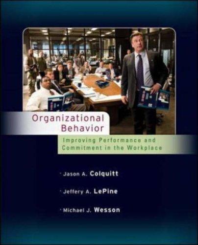 Organizational Behavior: Improving Performance