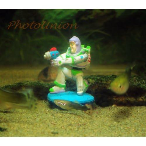 Eu aquarium buzz w17 decoration disney toy story buzz for Disney fish tank