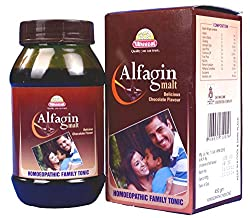 Wheezal Alfagin Malt 450 ml (PACK OF 2)