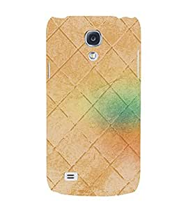 Colorful Wall Backgroung 3D Hard Polycarbonate Designer Back Case Cover for Samsung Galaxy S4 Mini i9190