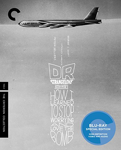 Blu-ray : Dr. Strangelove, Or: How I Learned to Stop Worrying and Love the Bomb (Criterion Collection) (Special Edition, 4K Mastering, Restored, Widescreen)