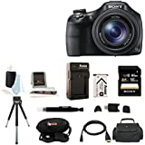 Sony Cyber-shot DSC-HX400 Digital Camera (Black) with 16GB Accessory Bundle