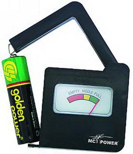 Testeur de batterie EL BT 6 F. Piles AAA, AA, C, D, 9 V